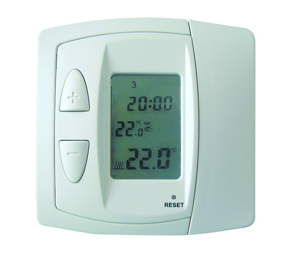 10-30DEG THERMOSTAT  WITH ON/OFF SW IN FLUSH MOUNT WALL BOX