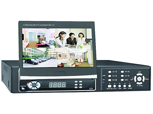 4 CHANNEL VIDEO & AUDIO H.264 STANDALONE DVR