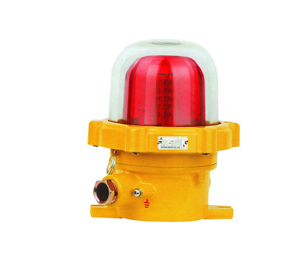 230VAC EX. PROOF LED BEACON RED IP65