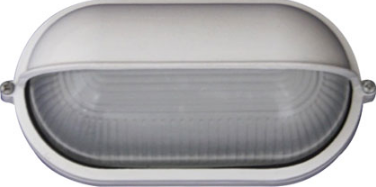 230VAC 6W WHITE LED EYELID BULKHEAD (6000K) 213X95X107MM IP5