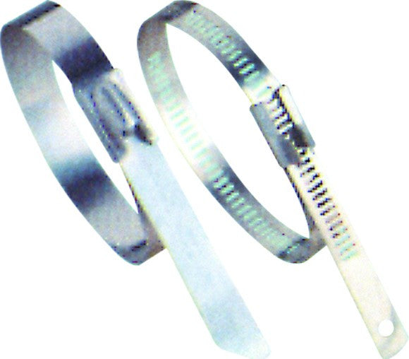 CABLE TIE 316 S/STEEL 450LX7.9W. BALL LOCK /100