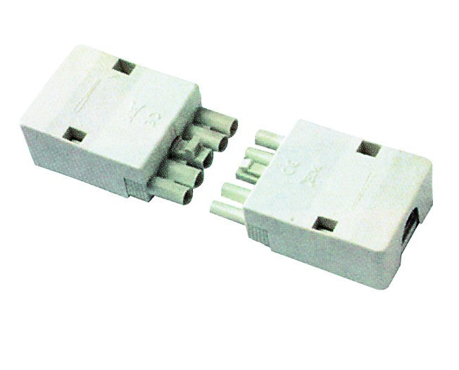 16A 400V 5 POLE SOCKET WHITE