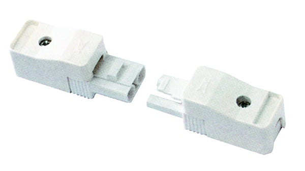 16A 400V 2 POLE IN LINE SOCKET WHITE