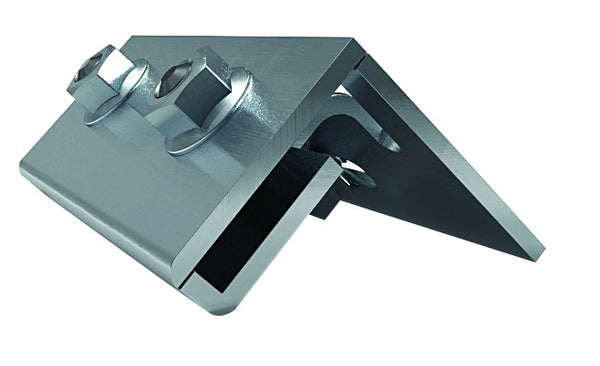 CLAMP FOR CRIMPED PLATE FOR SOLAR PANEL MOUNTING