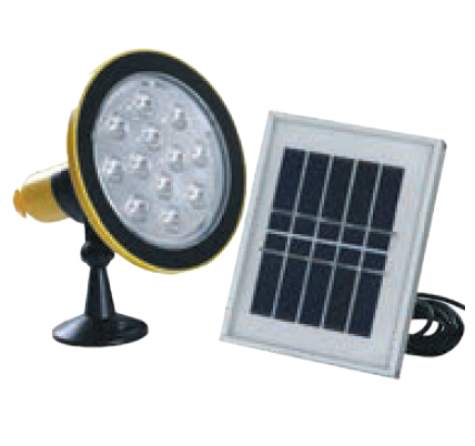 0.6W SOLAR TORCH/HOME LIGHT KIT C/W 1W SOLAR PANEL