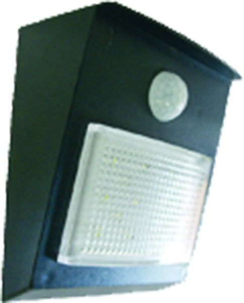 SOLAR NIGHT LIGHT 1W / 96LM C/W 0.4W PV PANEL /PIR