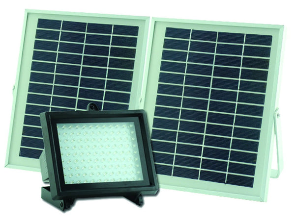 SOLAR FLOOD LIGHT 6.5W / 500LM C/W 10W PV PANEL