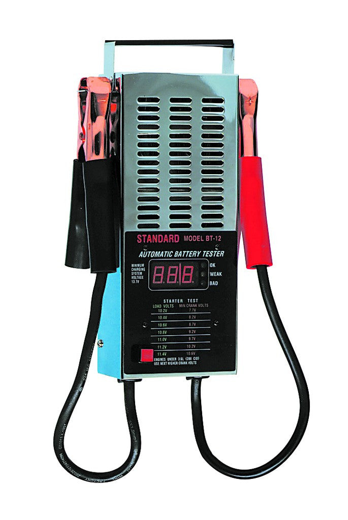 12VDC LOAD TEST BATTERY TESTER