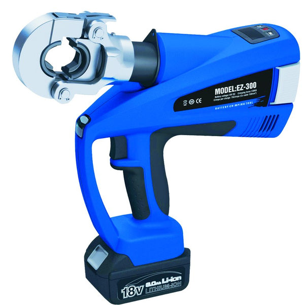 CORDLESS CRIMPING TOOL 18VDC/3AH,16-300MM