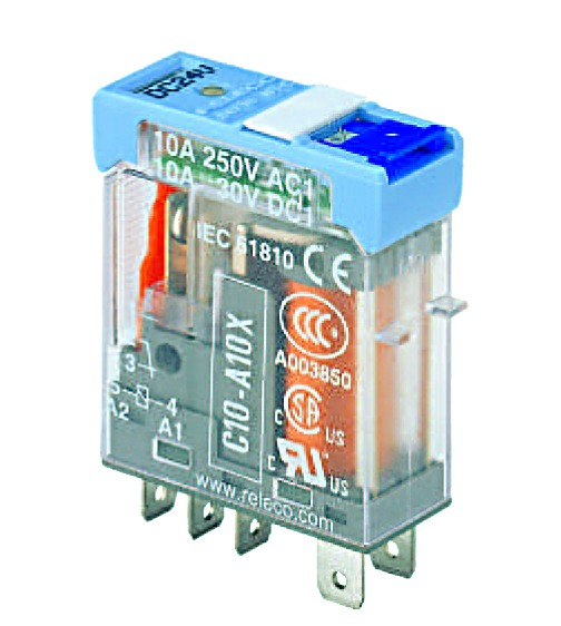 24VDC 10A 1C/O PLUG IN INTERFACE RELAY