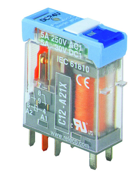 12VDC 5A 2C/O PLUG IN INTERFACE RELAY