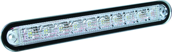 12/24VDC LED FITTING YELLOW 24.7x176x14.3MM