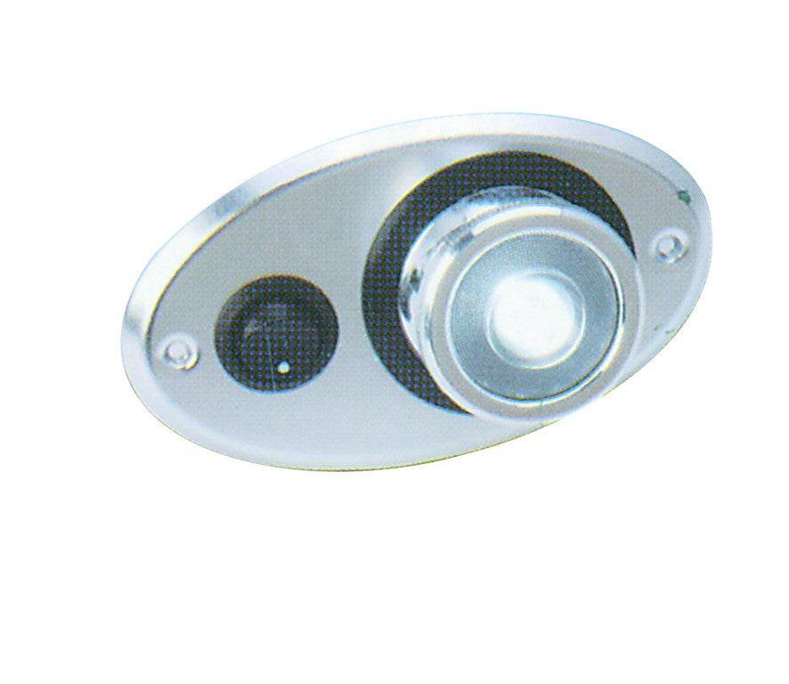 LED DC INT LIGHT 9-30VDC ,1W,C/W ON/OFF, 350°CONT,115X77X48