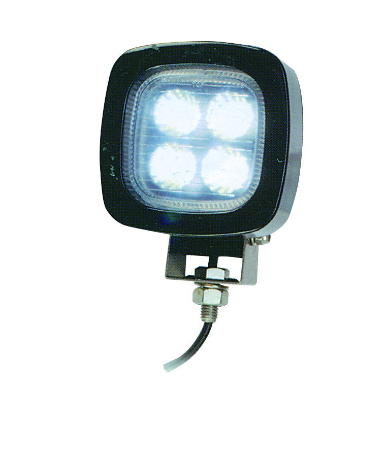 DC WORK LAMP FULL TILT AND ROTATE 4x2W( 8.5W) IP66