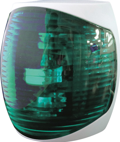 STARBOARD (GREEN),2W,9-32VDC,NAV LIGHT, 87.5x78x50mm