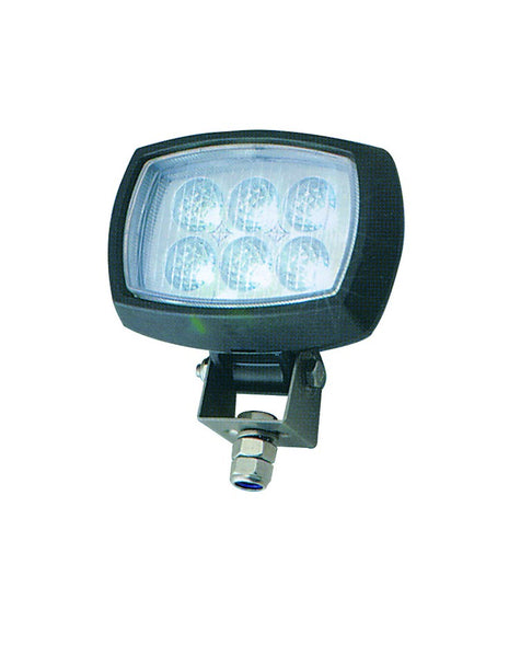 9/50VDC LED WORK LAMP  6x3W( 18W) IP65