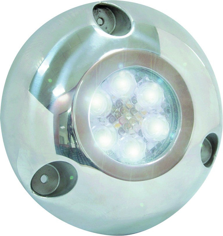 UNDERWATER LIGHT (WHITE),12W,9-32VDC,Ø126.5x32mm,STAINLESS S