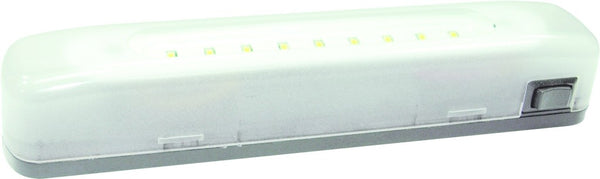 LED DC INT LIGHT 4.4VDC (3XAAA) 2W,170X35X33 ON/OFF CONT