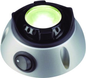 SWIVEL LED DC INT LIGHT 12-24VDC,1.5W,WITH ON/OFF SW,Ø80x48m