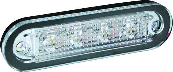 12/24VDC LED FITTING COOL WHITE 24.7x90x14.3MM