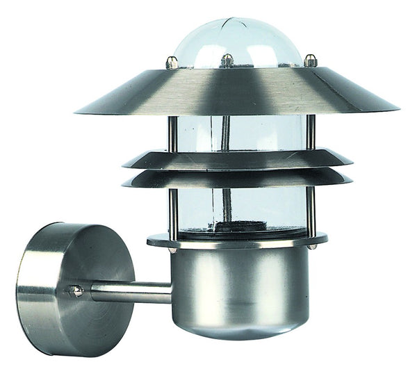 STANLESS STEEL E27. 60W/ESL  LIGHT FITTING