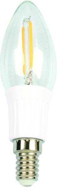 2W LED CANDLE BULB E14 BASE WARM WHITE