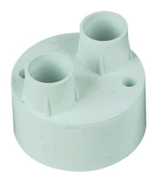 2-WAY BACK ENTRY PUSH-IN CONDUIT BOX 20mm /20