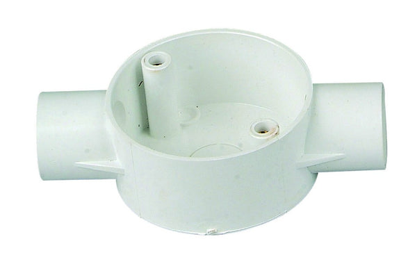 2-WAY CONDUIT BOX 20mm /20