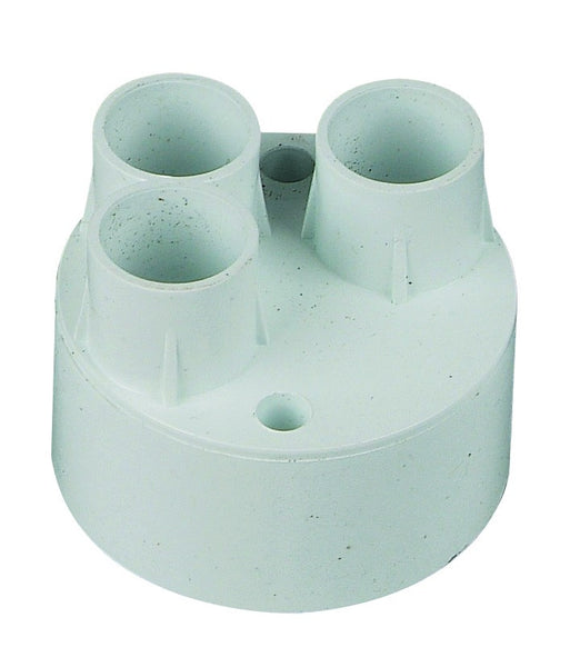 3-WAY BACK ENTRY PUSH-IN CONDUIT BOX 20mm /20