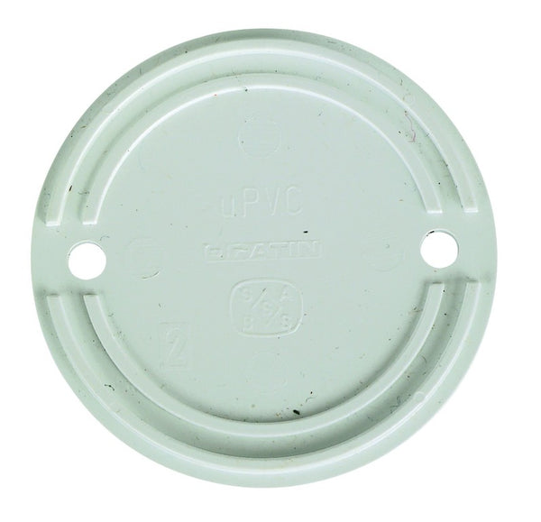 OVERSIZED PVC ROUND LID FOR CONDUIT BOX /50