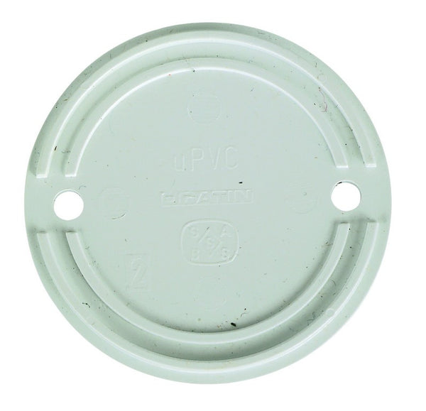 OVERSIZED PVC ROUND LID FOR CONDUIT BOX /1