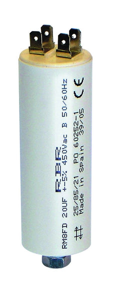 MOTOR RUN CAPACITOR 440VAC