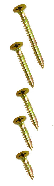 CHIPBOARD SCREWS - POZI HEAD 3.5 X 25