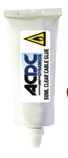 CLEAR CABLE GLUE 50ML TUBE