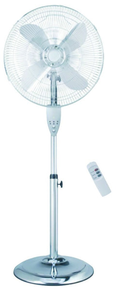 "16"" 3-SPEED FLOOR STANDING FAN WITH REMOTE CONTROL & 8 HOUR"
