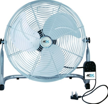 "18"" 3-SPEED FLOOR STANDING INDUSTRIAL FAN 130W"