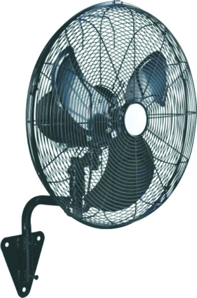 "26"" 3-SPEED WALL MOUNT OSCILLATING INDUSTRIAL FAN 160W"