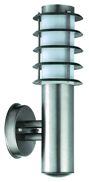 STANLESS STEEL E27 60W/CFL LIGHT FITTING
