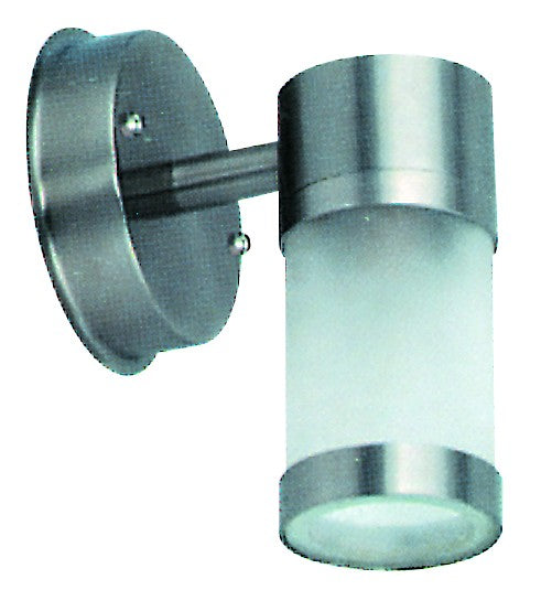 STANLESS STEEL E27 25W LIGHT FITTING