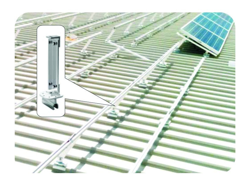 8 PV PANEL TIN ADJ MOUNTING SYSTEM