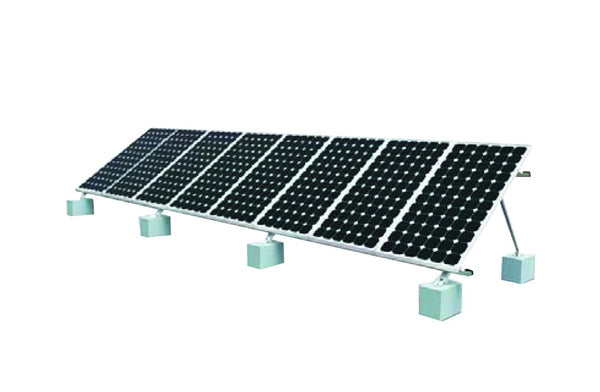 8 PV PANEL GROUND MOUNTING SYSTEM
