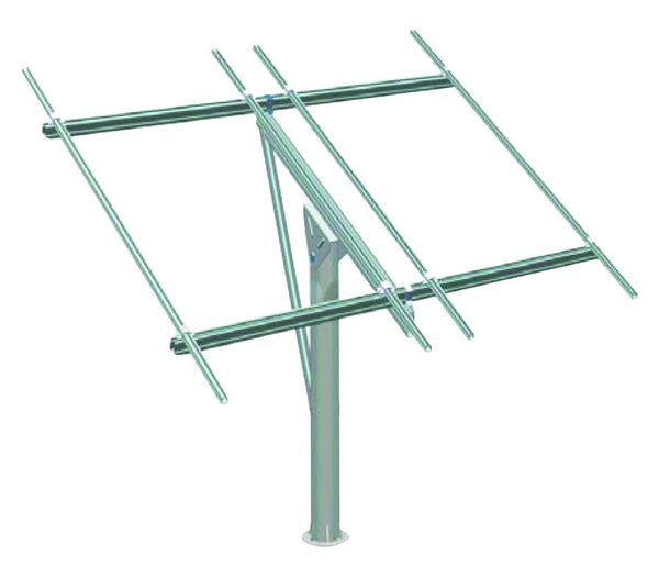 8 PV PANEL POLE 3M MOUNTING SYSTEM (WITHOUT POLE)