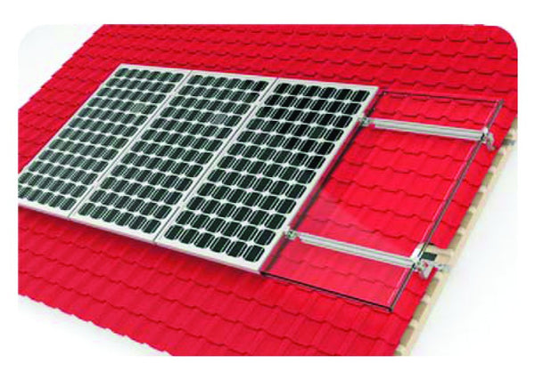 8 PV PANEL TILE MOUNTING SYSTEM