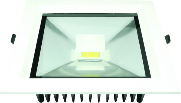 30W COOL WHITE SQUARE LED DOWNLIGHT 85-265VAC 180X180MM