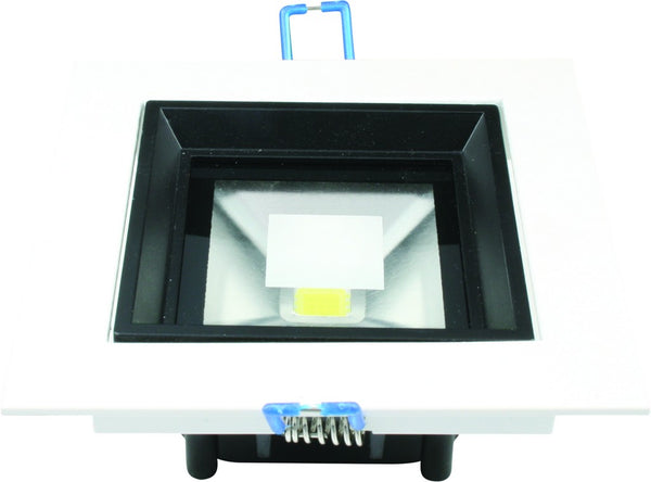 10W COOL WHITE SQUARE LED DOWNLIGHT 85-265VAC 120X120MM