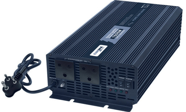 2000W PURE SINE WAVE INVERTER 24VDC:230VAC C/W CHARGER