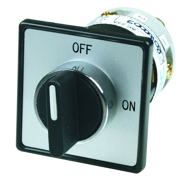 16A 4P ROTARY ISOLATOR 22MM DOOR MOUNT