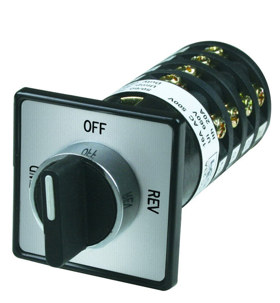 40A 4P 22MM DOOR MOUNT C/O SWITCH