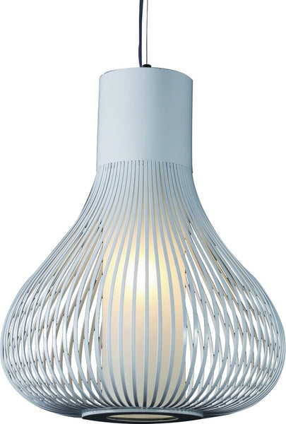 230V 60W E27 PENDANT LIGHT WHITE