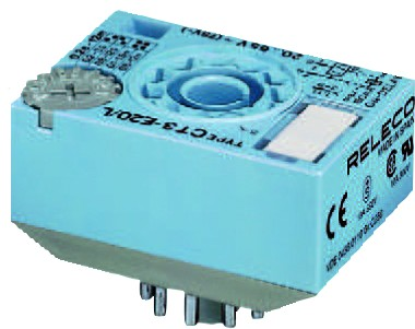 9.5-18VDC 8-PIN TIMER CUBE EQ REPEAT 0.2S-30M IP40